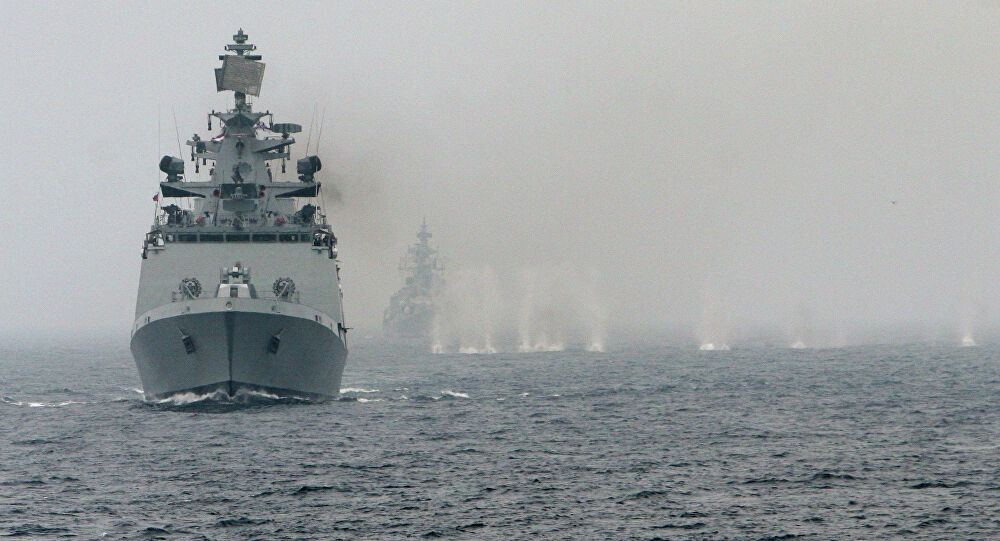 Russia, India kick off joint naval drills in Indian Ocean