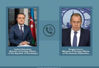 Azerbaijani, Russian FMs discuss 10 November statement for ceasefire in Karabakh