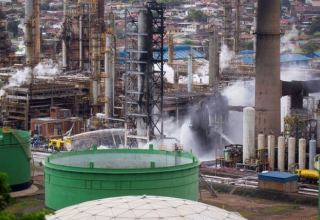 South Africa's second largest crude refinery shutdown after blast