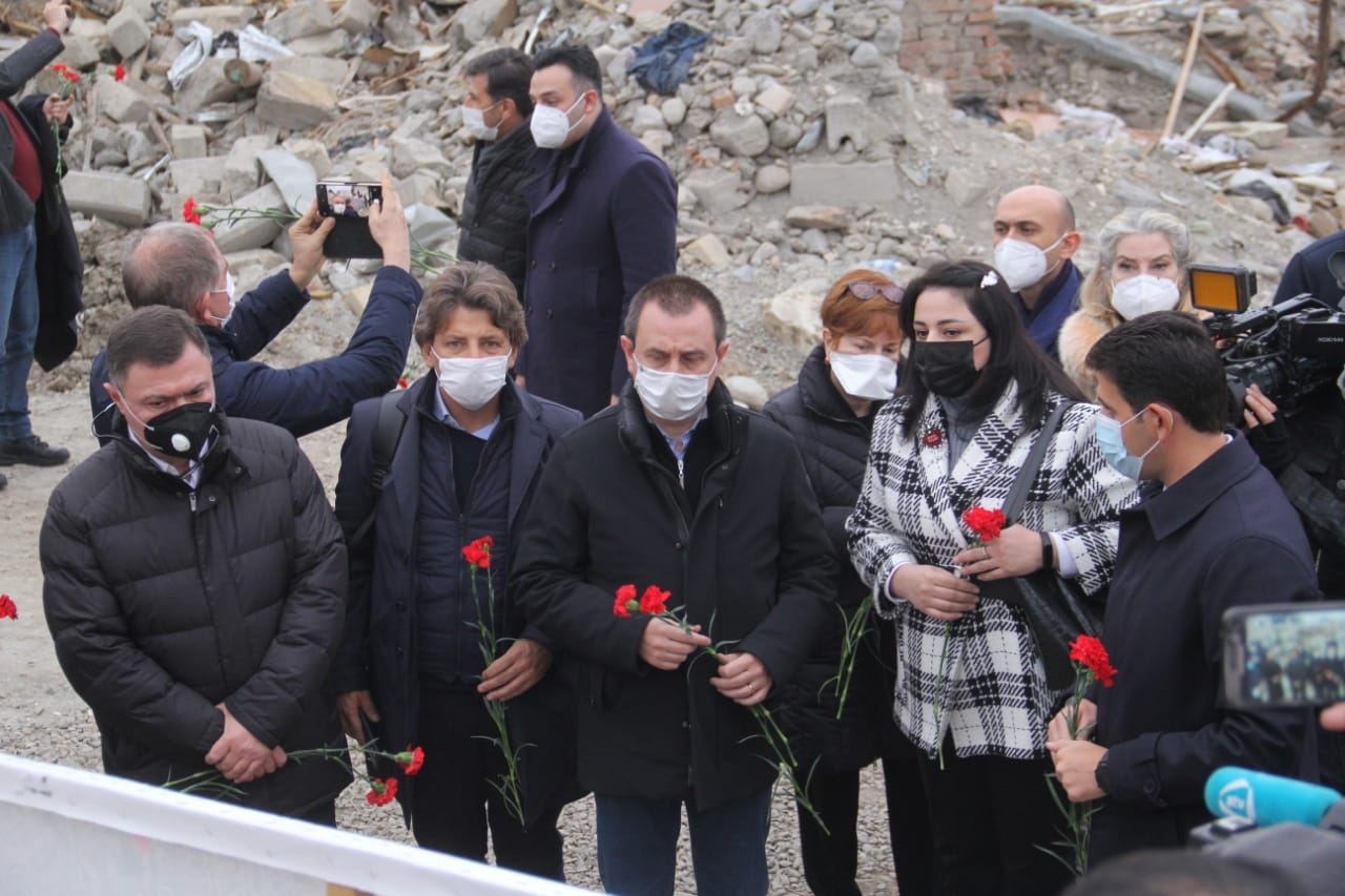 Делегация Палаты депутатов Италии посетила Гянджу (ФОТО) - Gallery Image