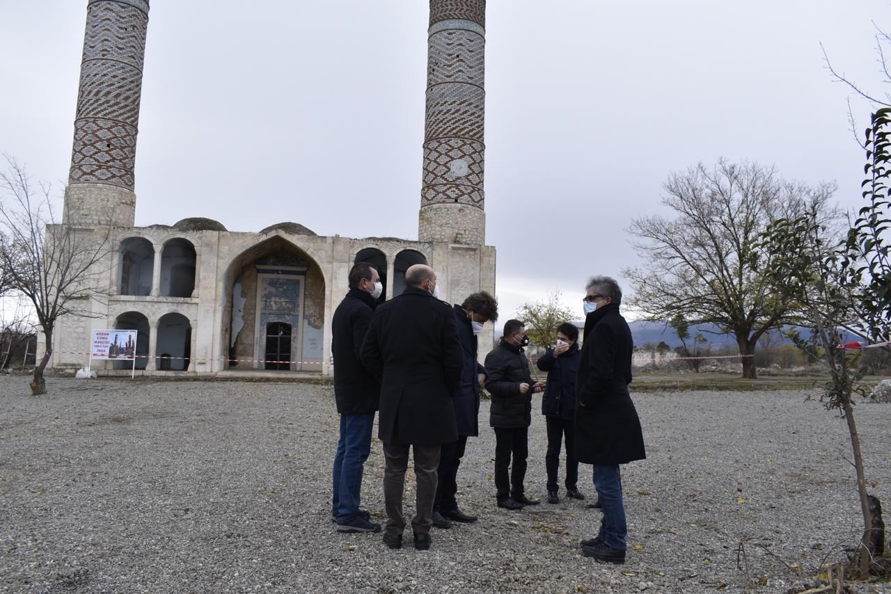 Italian MPs visit Azerbaijan's Aghdam liberated from Armenian occupation (PHOTO) - Gallery Image