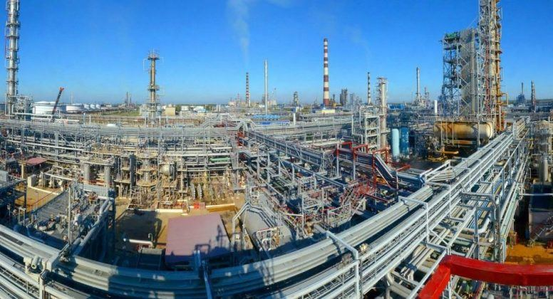 SOCAR Construction details on work at Mozyr Oil Refinery