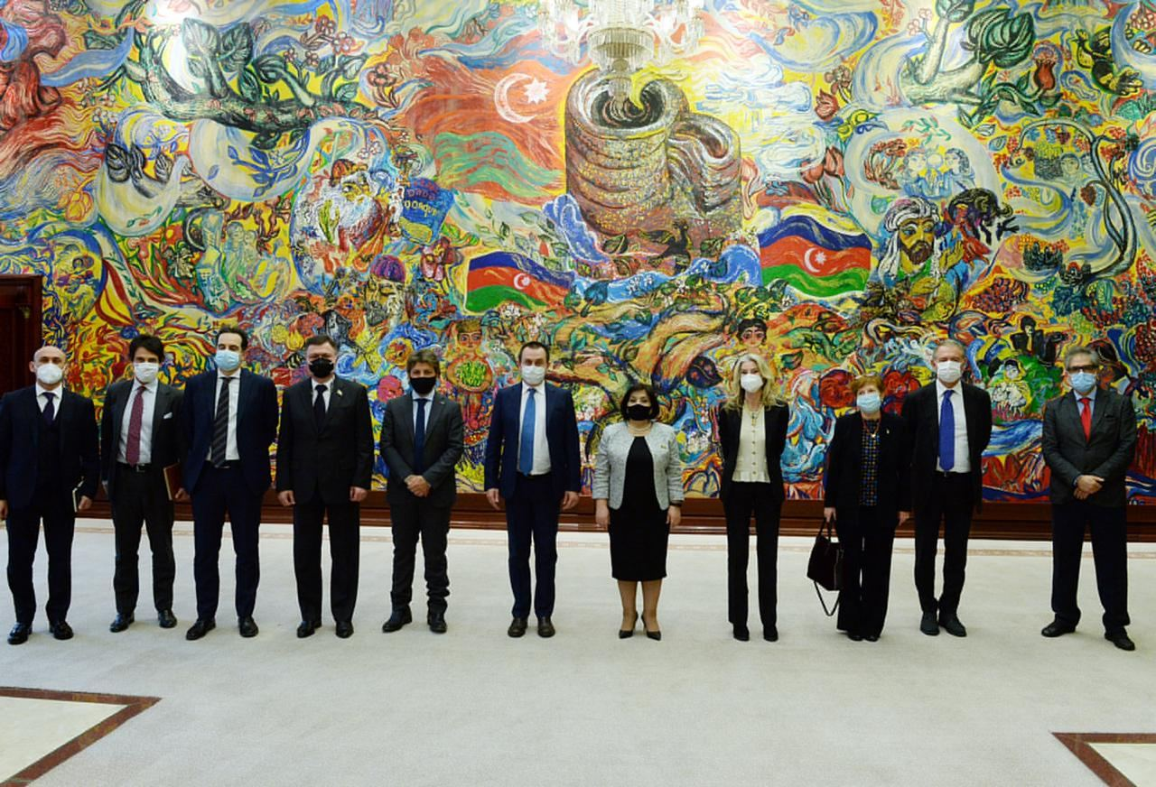 Azerbaijan, Italy close friends and strategic partners - Speaker of parliament (PHOTO) - Gallery Image