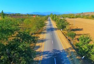 Road construction in one of Azerbaijan's districts completed (PHOTO)