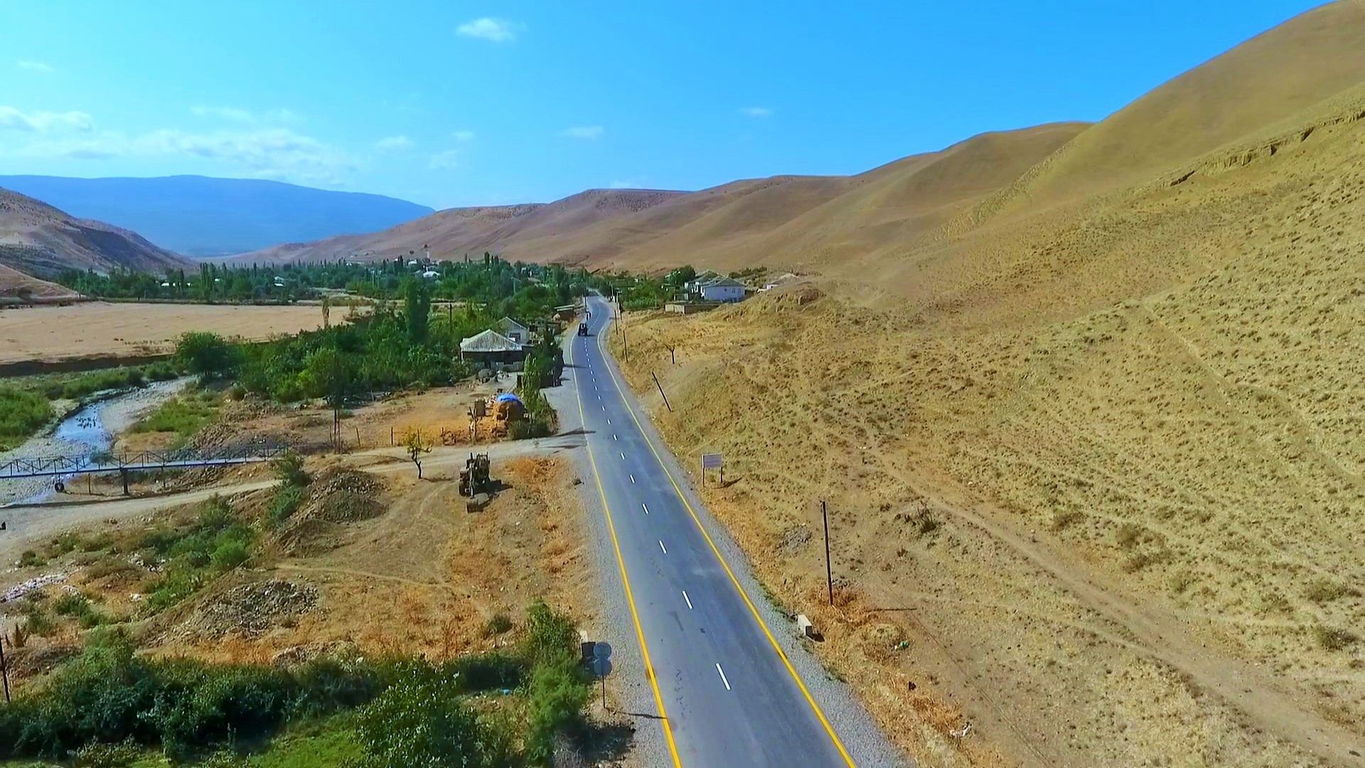 One more highway reconstructed in Azerbaijan (PHOTO/VIDEO) - Gallery Image