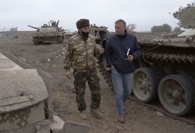 German ZDF TV shows footage of Azerbaijani territories liberated from Armenian occupation (VIDEO)