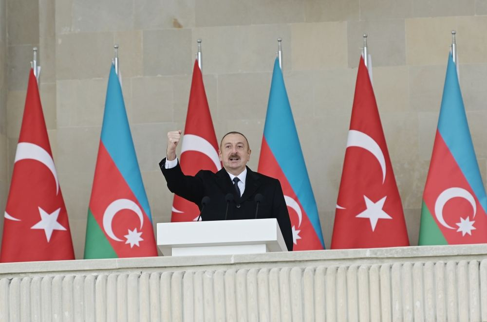 We said enough is enough, this occupation must and will end - President Aliyev