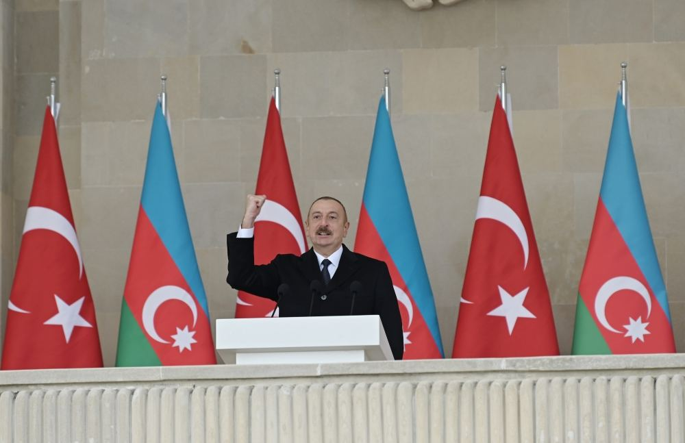 From now on, we will only move forward - President Aliyev