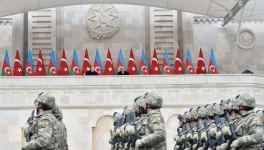 Azerbaijan holds military parade dedicated to victory in Patriotic War with participation of Azerbaijani, Turkish presidents (PHOTO) - Gallery Thumbnail