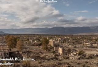 New York Times publishes article on destructions of Azerbaijani Fuzuli, Aghdam as result of occupation
