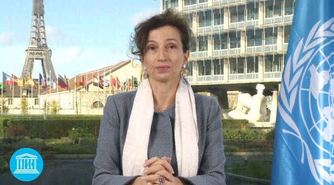 To imagine shared world, we need dedicated member states to build it - UNESCO Director General