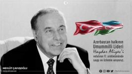 Great leader Heydar Aliyev's 'One nation, two states' slogan to stand forever - Turkish FM - Gallery Thumbnail