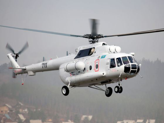 Kazakhstan launches first domestically assembled helicopters