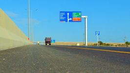 Construction of first section of Baku-Guba-Russia toll highway completed (PHOTO/VIDEO) - Gallery Thumbnail
