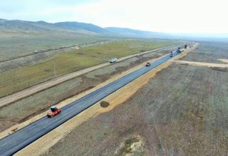 Azerbaijan progresses with road construction to liberated villages of Tartar (PHOTO/VIDEO)
