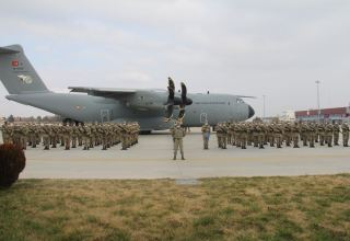 More Turkish sappers arrive in Azerbaijan to clear liberated territories (PHOTO)