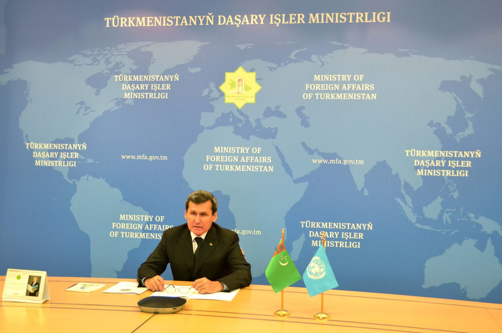Steering Committee for implementation of Sustainable Development Cooperation Framework held in Turkmenistan (PHOTO) - Gallery Image