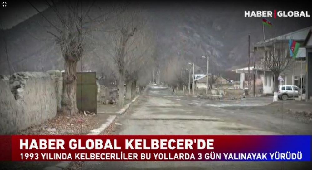 Turkish Haber Global TV shows video report from Azerbaijan's liberated Kalbajar (PHOTO/VIDEO) - Gallery Image