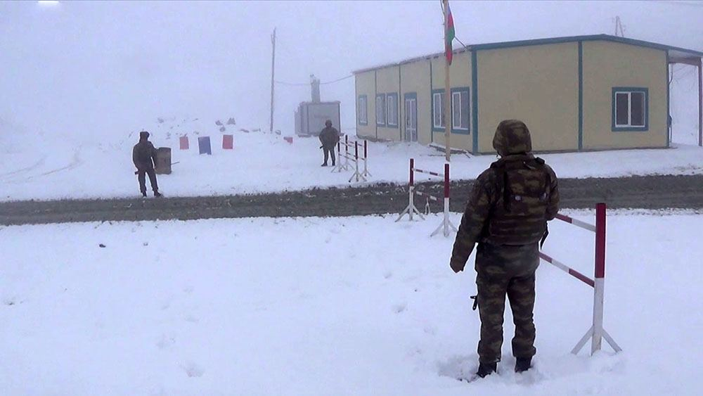 Azerbaijan continues to improve provision of its army's units in liberated territories (PHOTO/VIDEO) - Gallery Image