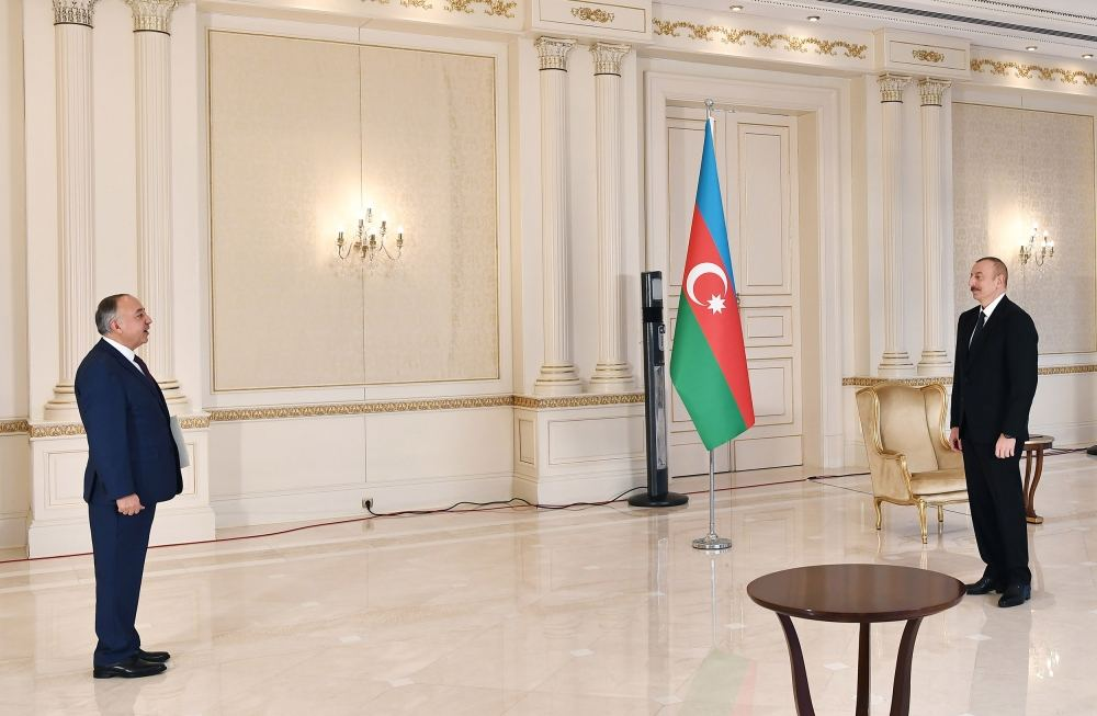President Ilham Aliyev receives credentials of incoming Afghan ambassador (PHOTO)