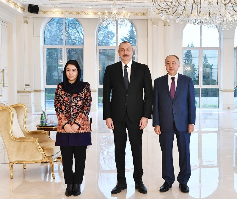 President Ilham Aliyev receives credentials of incoming Afghan ambassador (PHOTO) - Gallery Image