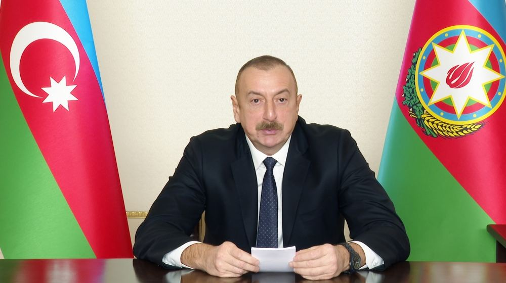 As result of war, over 80 percent of potential of Armenian armed forces destroyed - President Aliyev