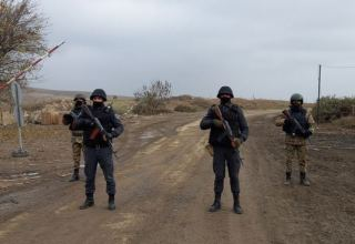 Azerbaijan strengthening security measures in liberated Jabrayil district (PHOTO)