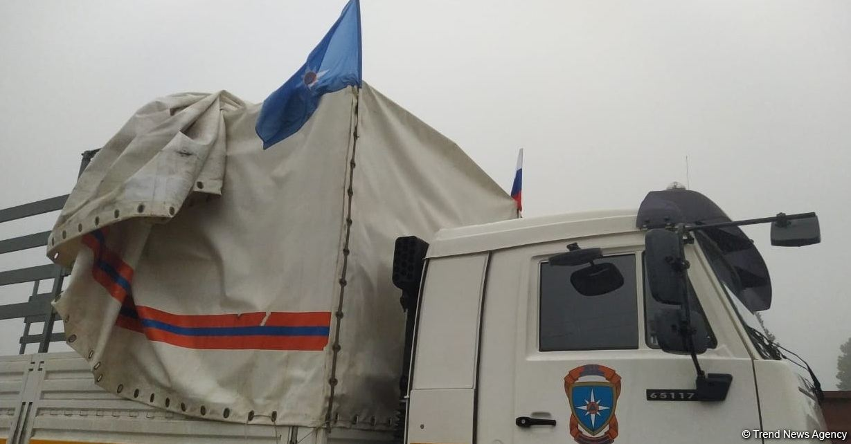 Russian humanitarian cargo delivered to Karabakh (PHOTOS) - Gallery Image
