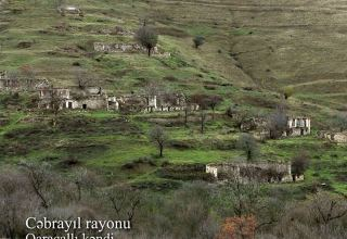 Azerbaijan shows video footage from Garajalli village of Jabrayil district (VIDEO)