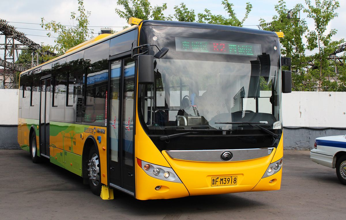 Plant for manufacturing of Yutong buses, electric buses launched in Kazakhstan