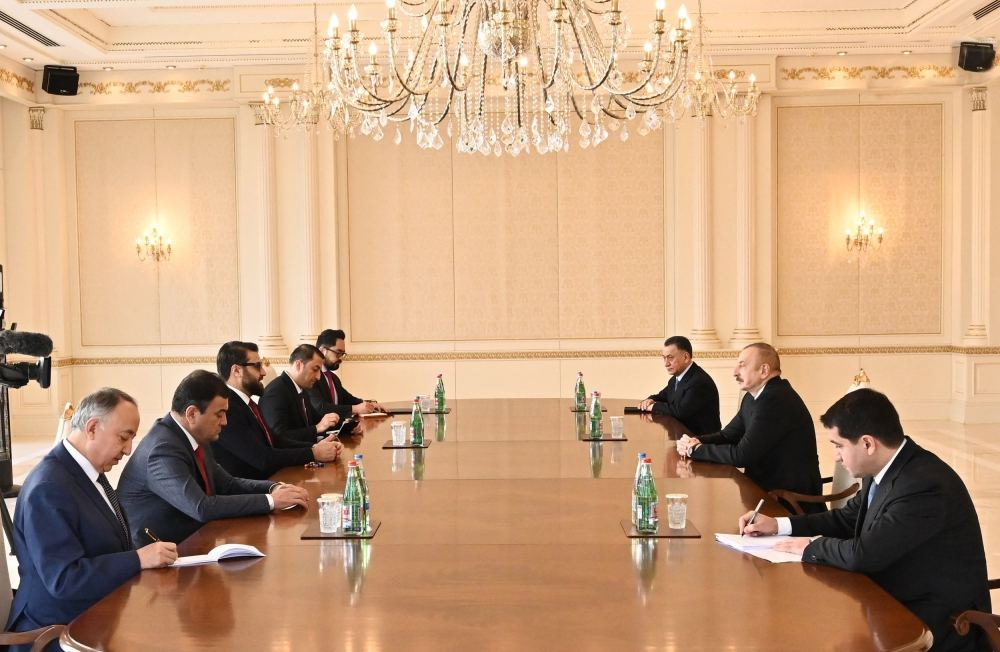 President Aliyev receives Afghanistan`s national security advisor, chief of staff to Afghan president