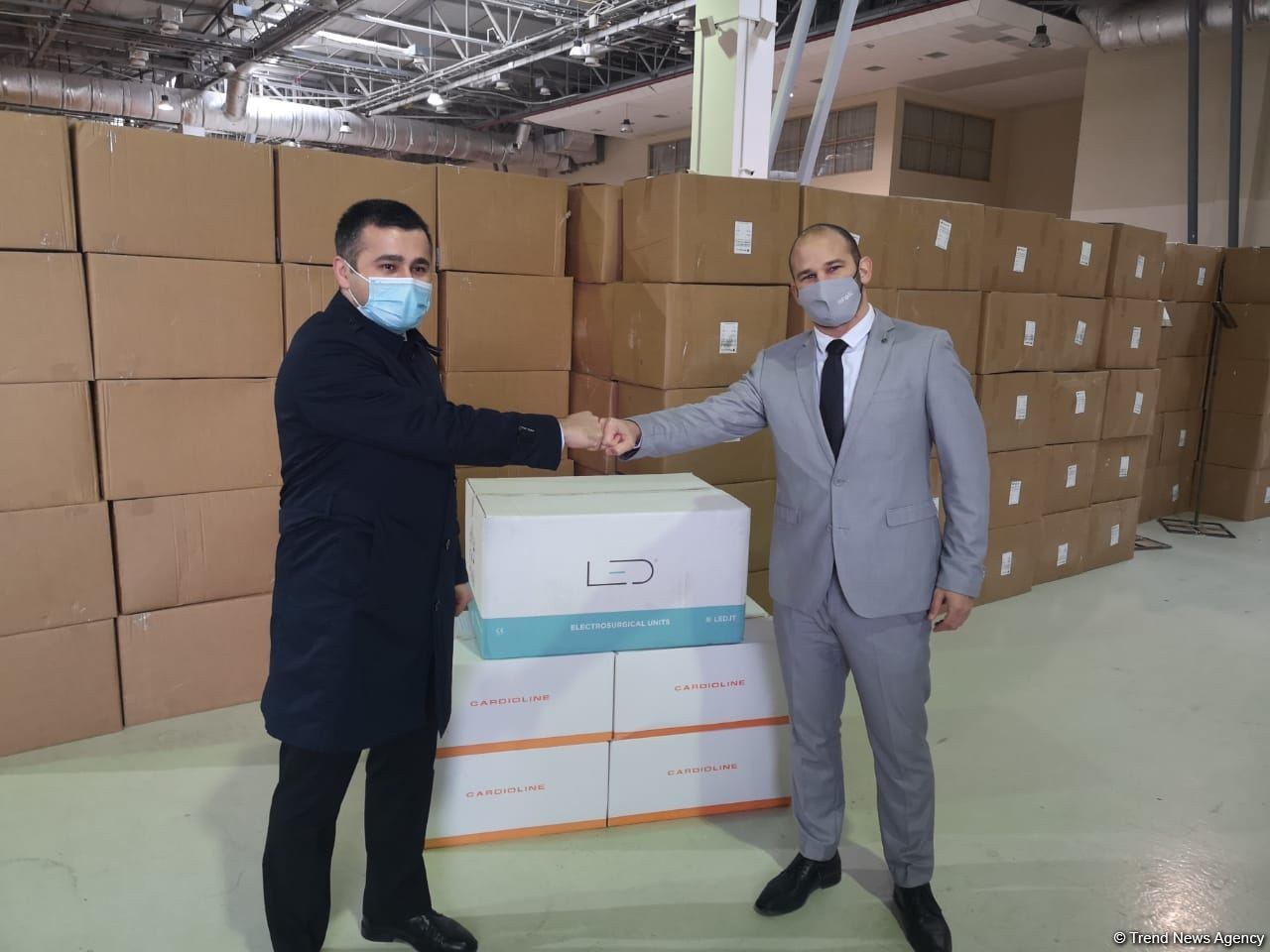 Israel provides humanitarian aid in framework of Medical cooperation with Azerbaijan (PHOTO)