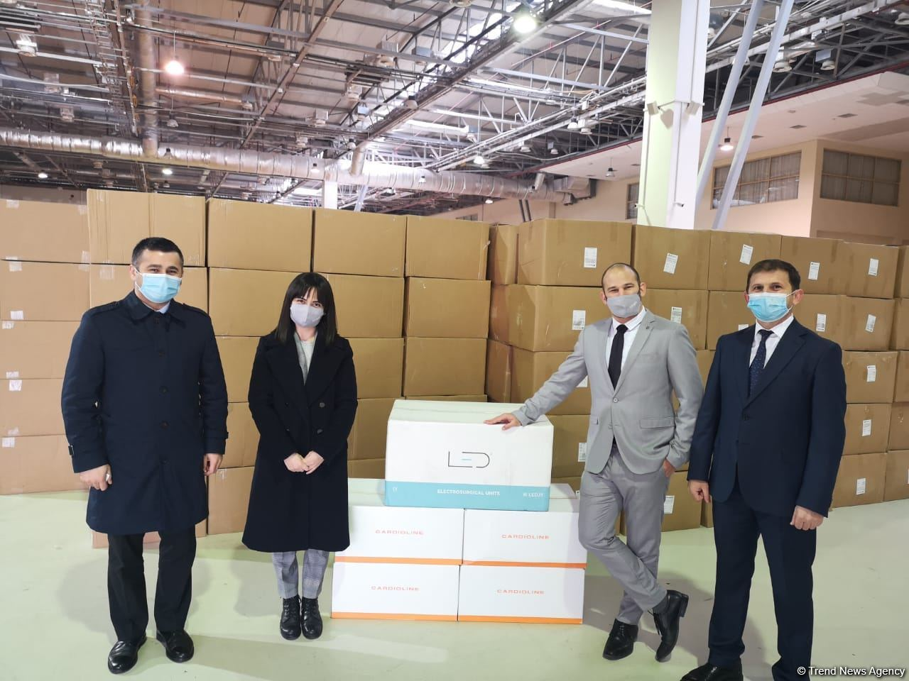 Israel provides humanitarian aid in framework of Medical cooperation with Azerbaijan (PHOTO) - Gallery Image