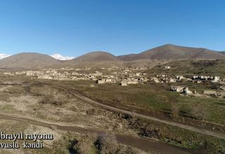 Azerbaijan shares new footage from Hovuslu village of Jabrayil district (VIDEO)