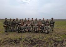 Azerbaijan carries out activities on engineering support for troops in liberated lands (PHOTO/VIDEO) - Gallery Thumbnail