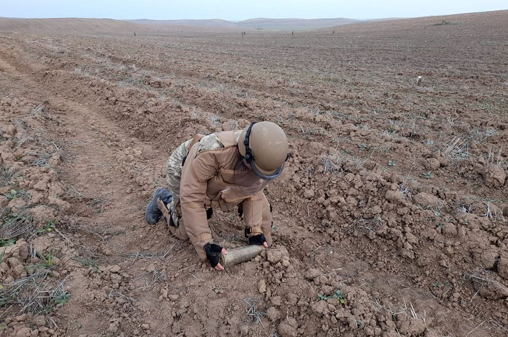 Azerbaijan carries out activities on engineering support for troops in liberated lands (PHOTO/VIDEO)