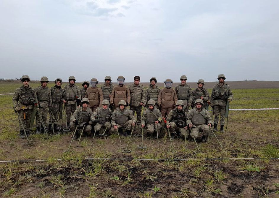Azerbaijan carries out activities on engineering support for troops in liberated lands (PHOTO/VIDEO) - Gallery Image