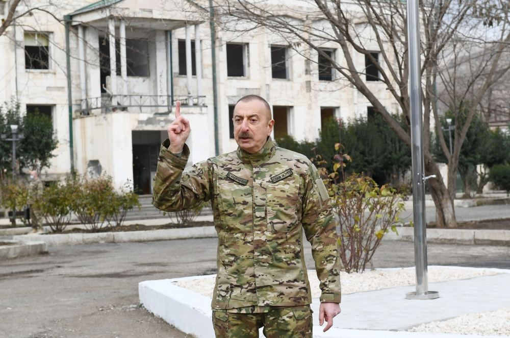 You are adopting resolutions. Let these resolutions be curse for you. See who is accusing Azerbaijan - President Aliyev