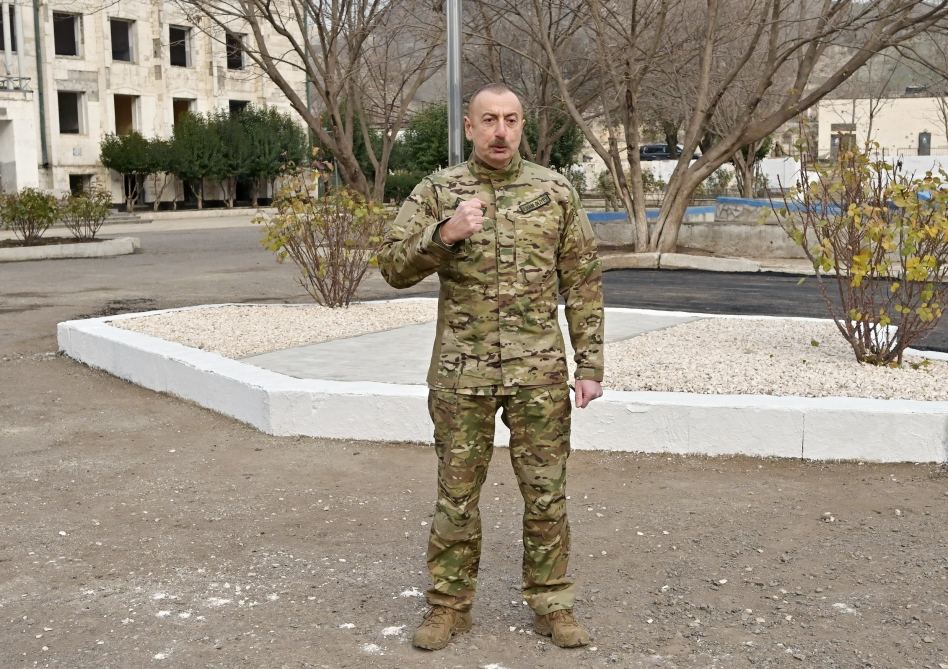 If single bullet is fired from Armenia, we will crush them so hard they will forget their own names - President Aliyev