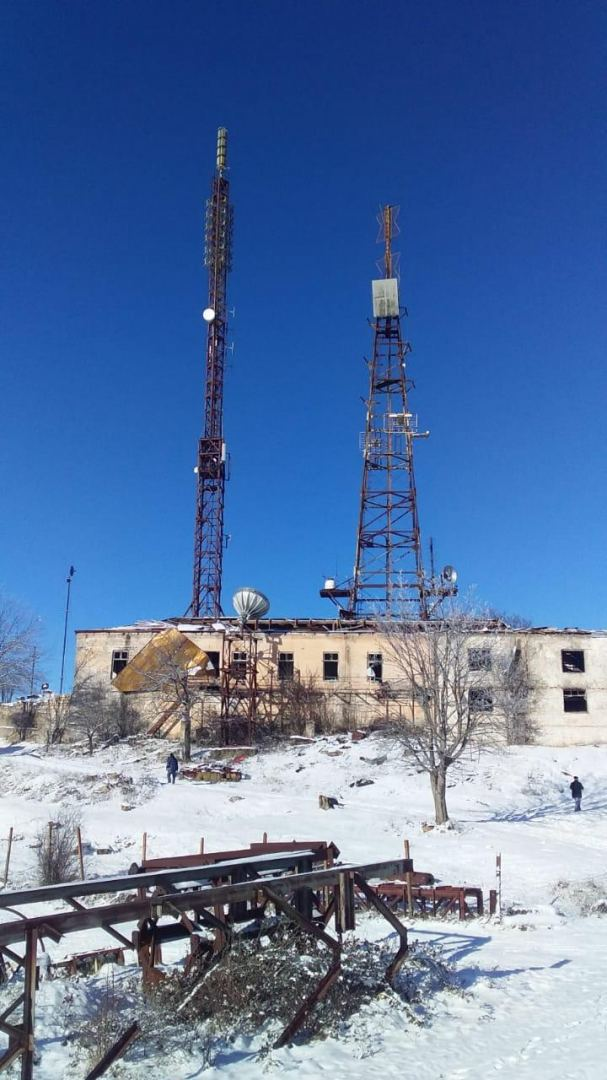Azerbaijan Television begins to broadcast in liberated Shusha (PHOTO) - Gallery Image