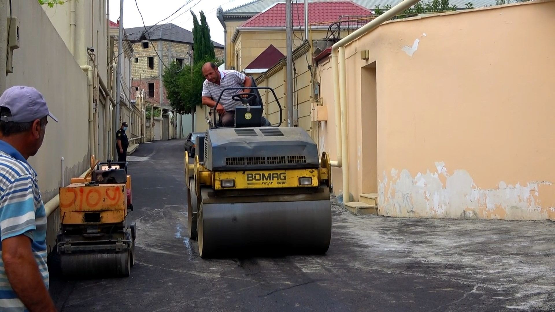 State Agency of Azerbaijan Automobile Roads completes repair of several streets, roads in Baku (PHOTO/VIDEO) - Gallery Image