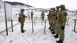 Azerbaijan Army Units carrying out combat training (PHOTO/VIDEO) - Gallery Thumbnail
