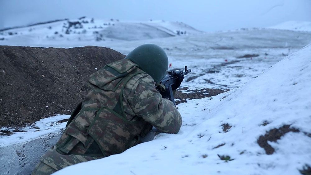 Azerbaijan Army Units carrying out combat training (PHOTO/VIDEO)