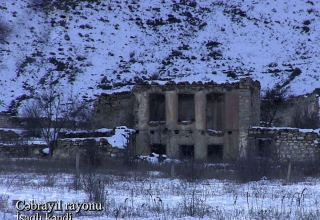 Azerbaijan shows footage from Isagli village of Jabrayil district (PHOTO/VIDEO)