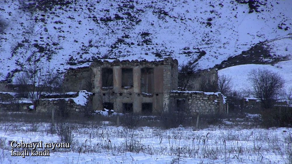 Azerbaijan shows footage from Isagli village of Jabrayil district (PHOTO/VIDEO) - Gallery Image