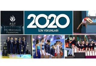 Федерация гимнастики Азербайджана подвела итоги 2020 года (ФОТО)
