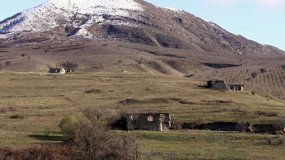Azerbaijan shows footage from Nusus village of Jabrayil district (PHOTO/VIDEO) - Gallery Image