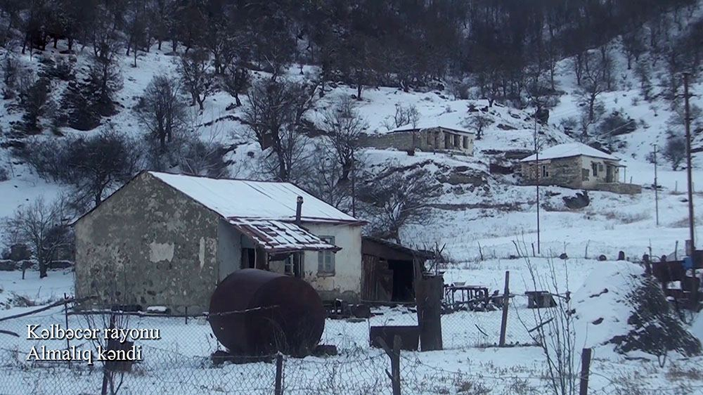 Azerbaijan shares footage from liberated Almalyg village of Kalbajar district (PHOTO/VIDEO) - Gallery Image