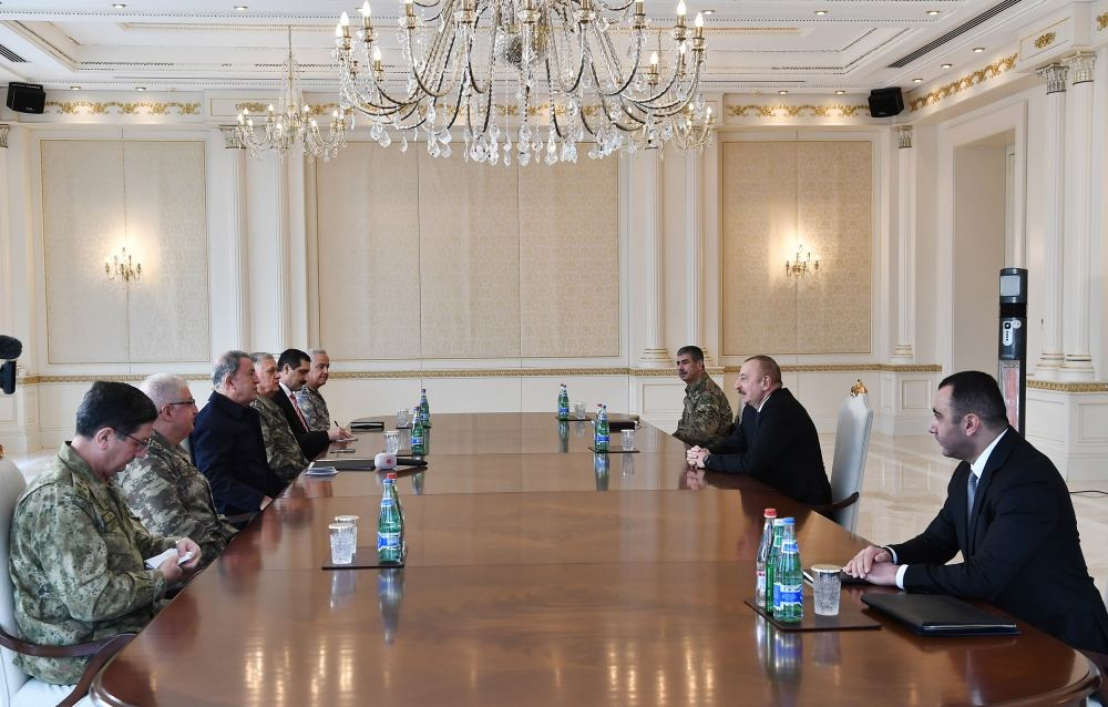 Many of Armenian armed units that still remain in some of liberated lands neutralized - President Aliyev