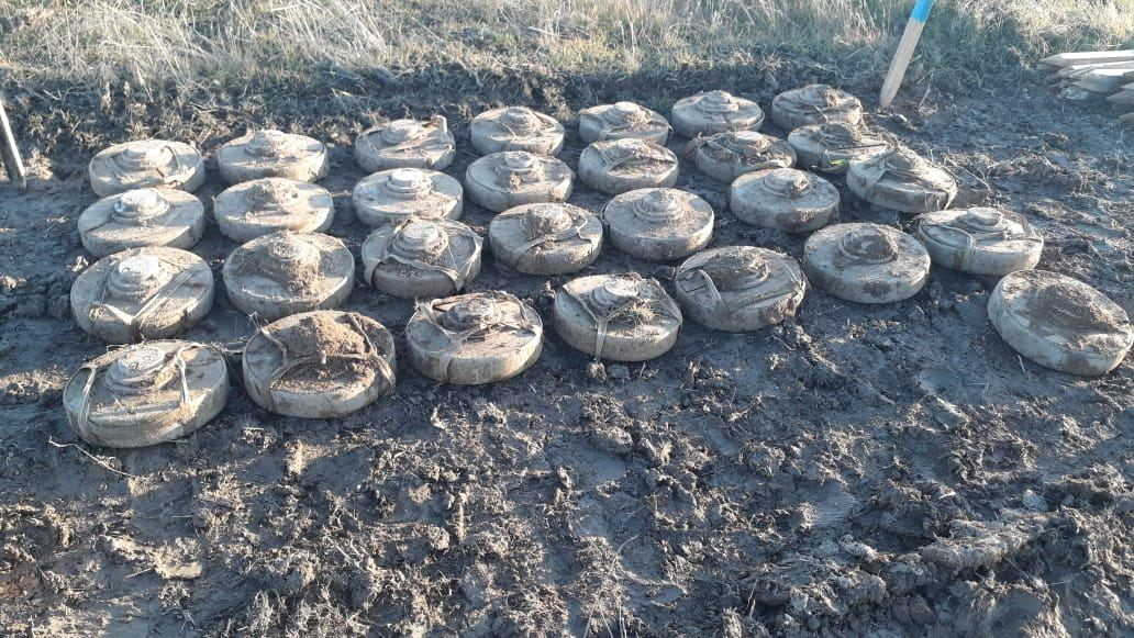 Russian sappers continue neutralizing explosives in Azerbaijan's Aghdam